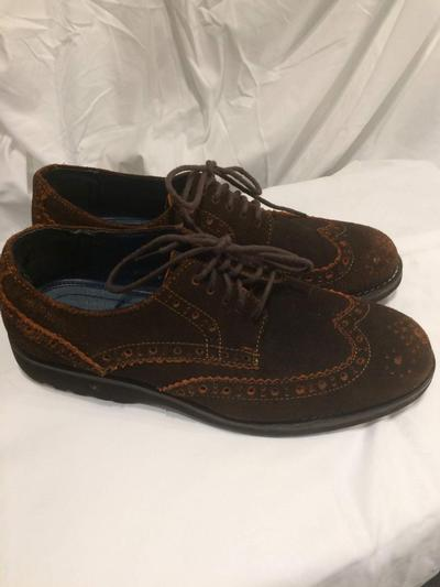 Men's Suede Wingtips